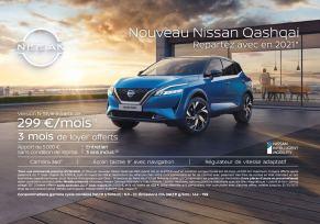 Repartez au volant du nouveau Nissan Qashqai en 2021