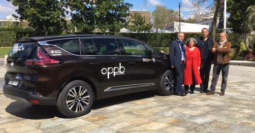 Concession Renault Pau mécenne de l'OPPB remet une Renault Espace