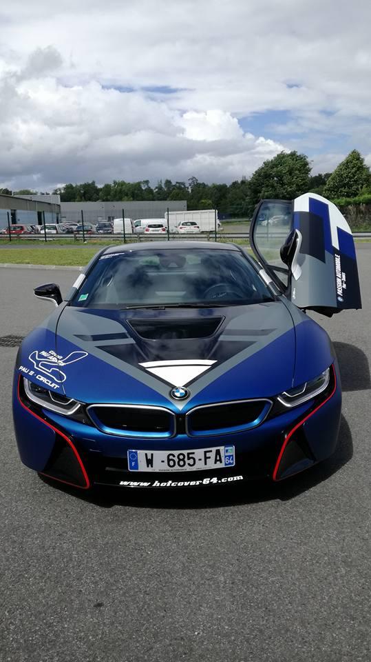 BMW i8 au Grand Prix de Pau