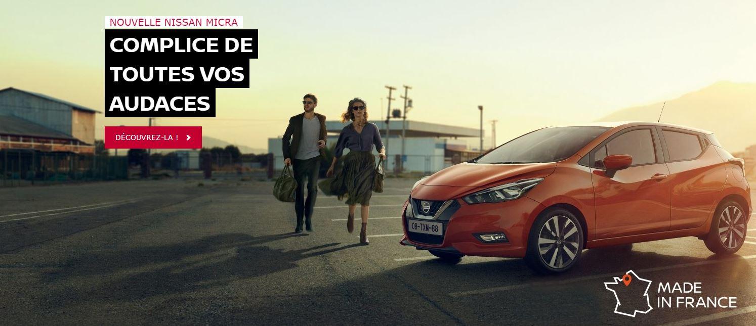 Nouvelle Nissan Micra à découvrir à Limoges