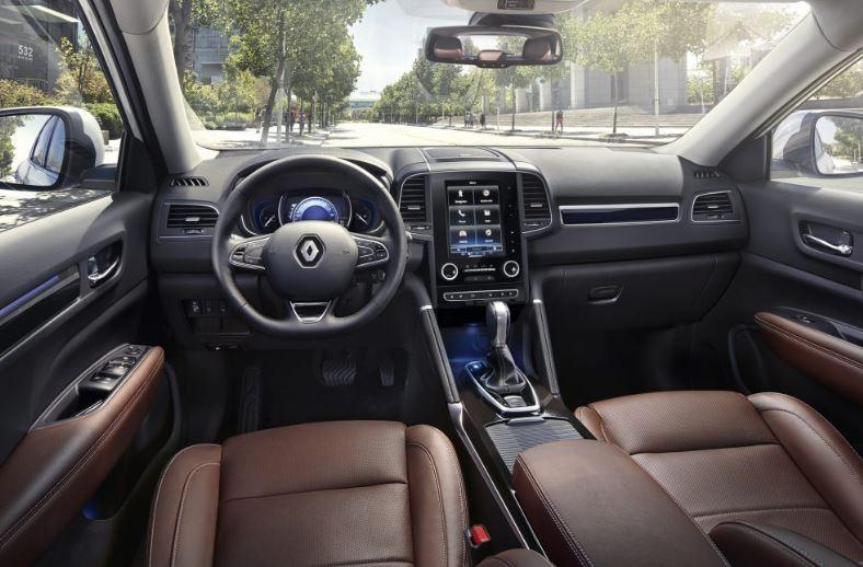 Vue intérieure du nouveau Renault Koleos