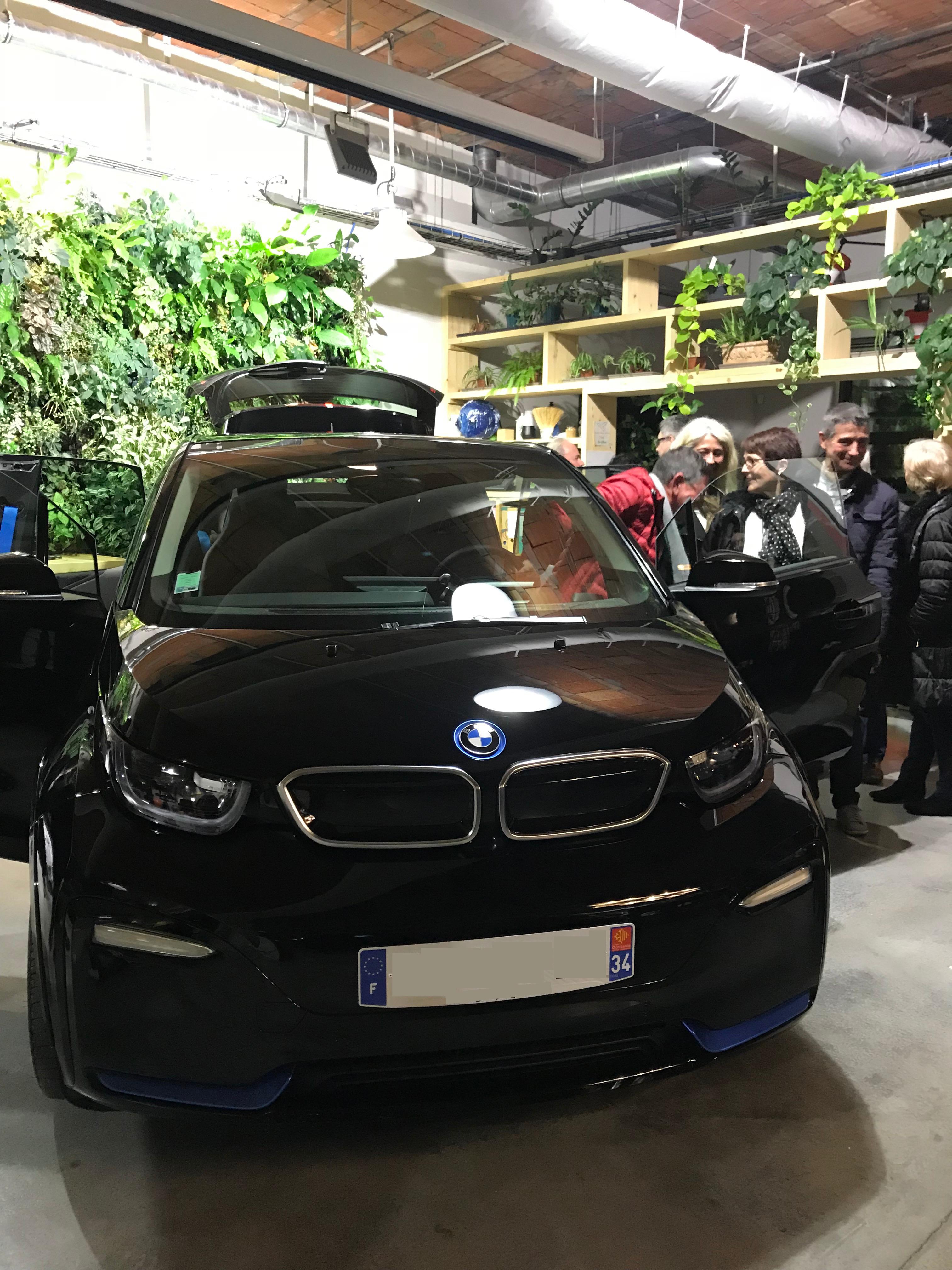 Evénement de lancement de la nouvelle BMW i3