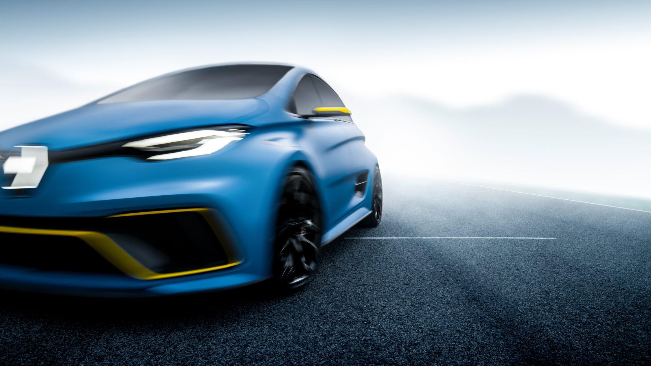Renault ZOE e-Sport Concept, l'électrique sportive