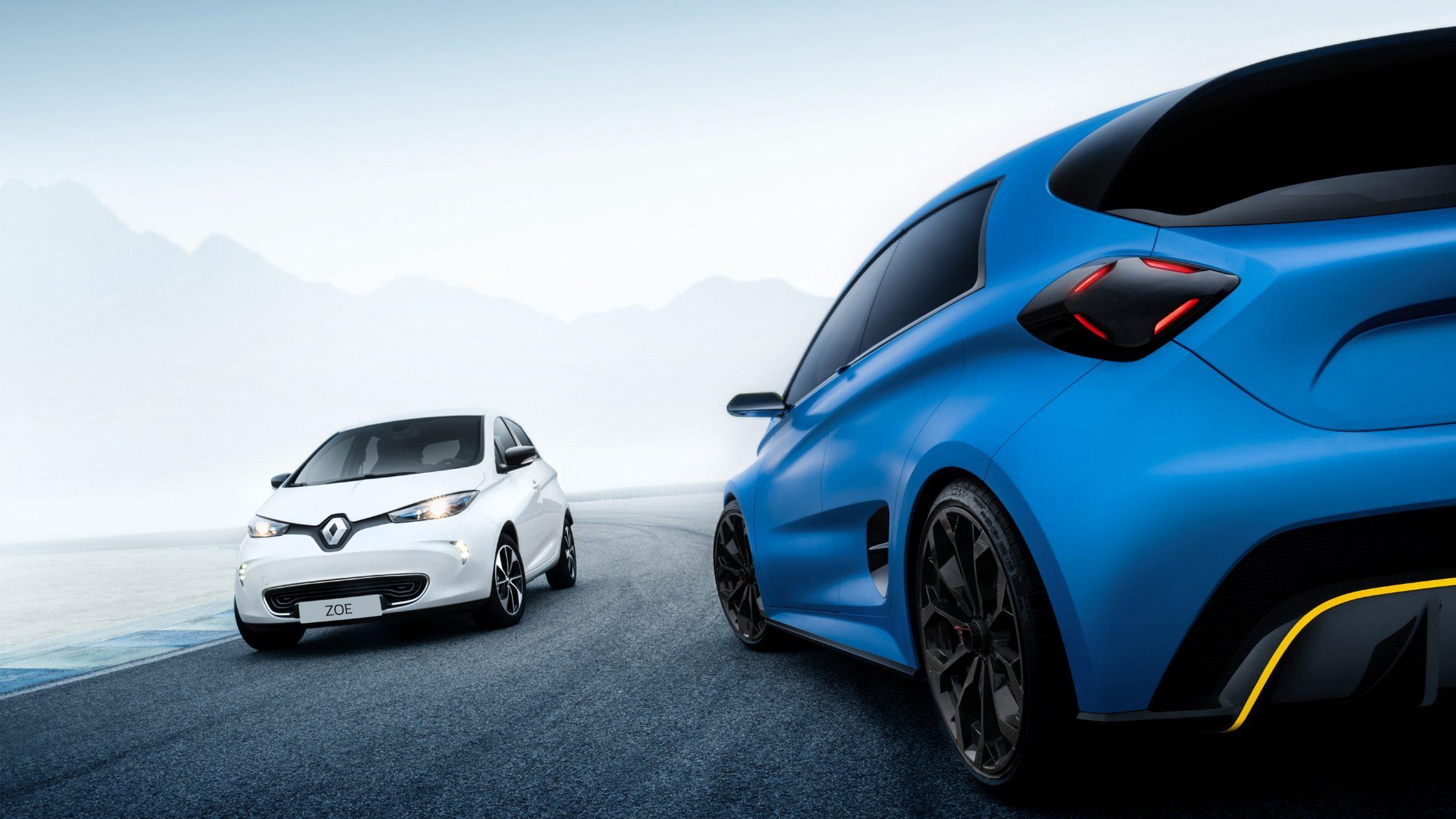 Motorisation électrique puissante et maîtrisée Renault ZOE e-Sport Concept