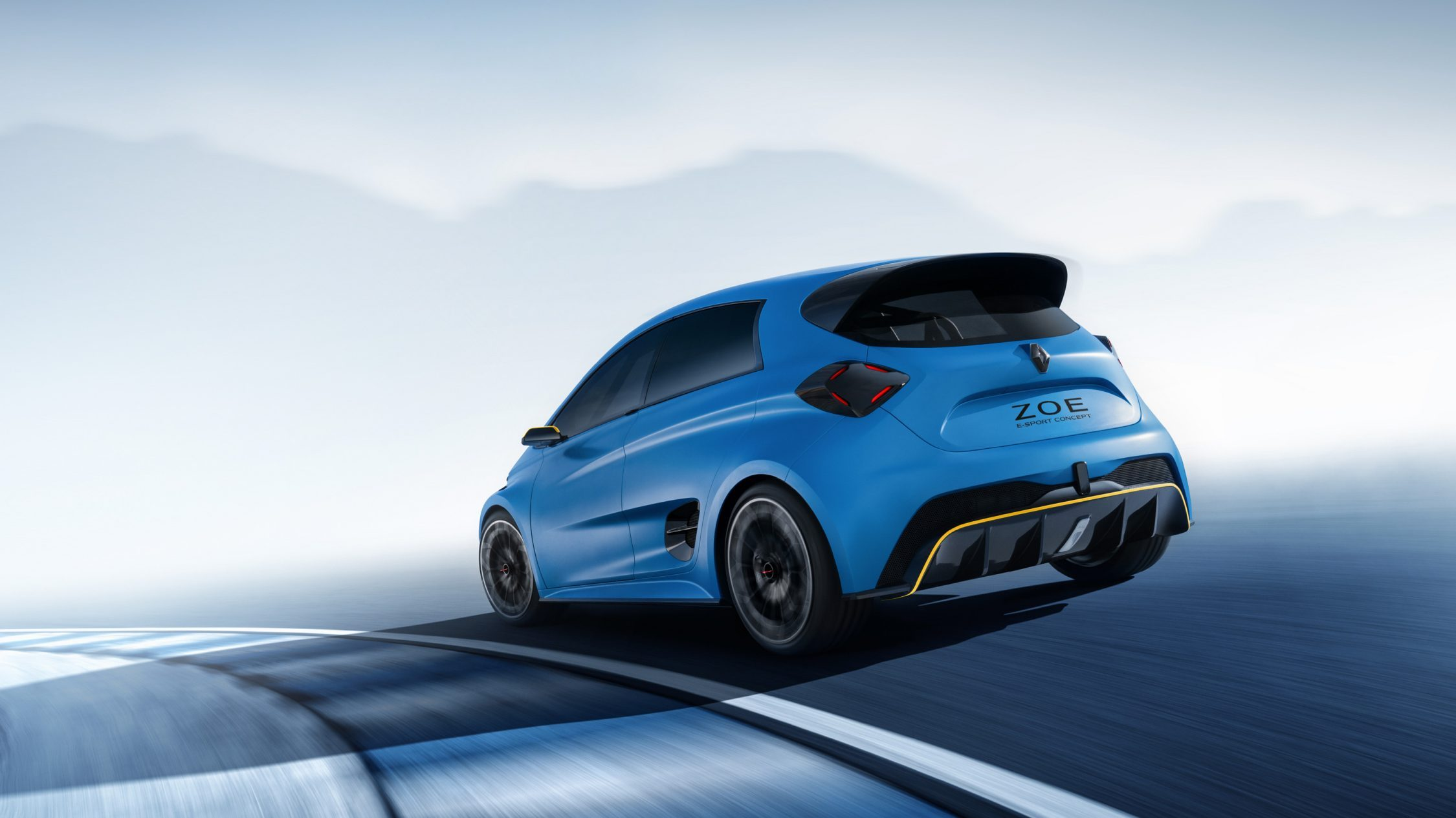 Renault ZOE e-Sport Concept la version sportive de la Renault ZOE