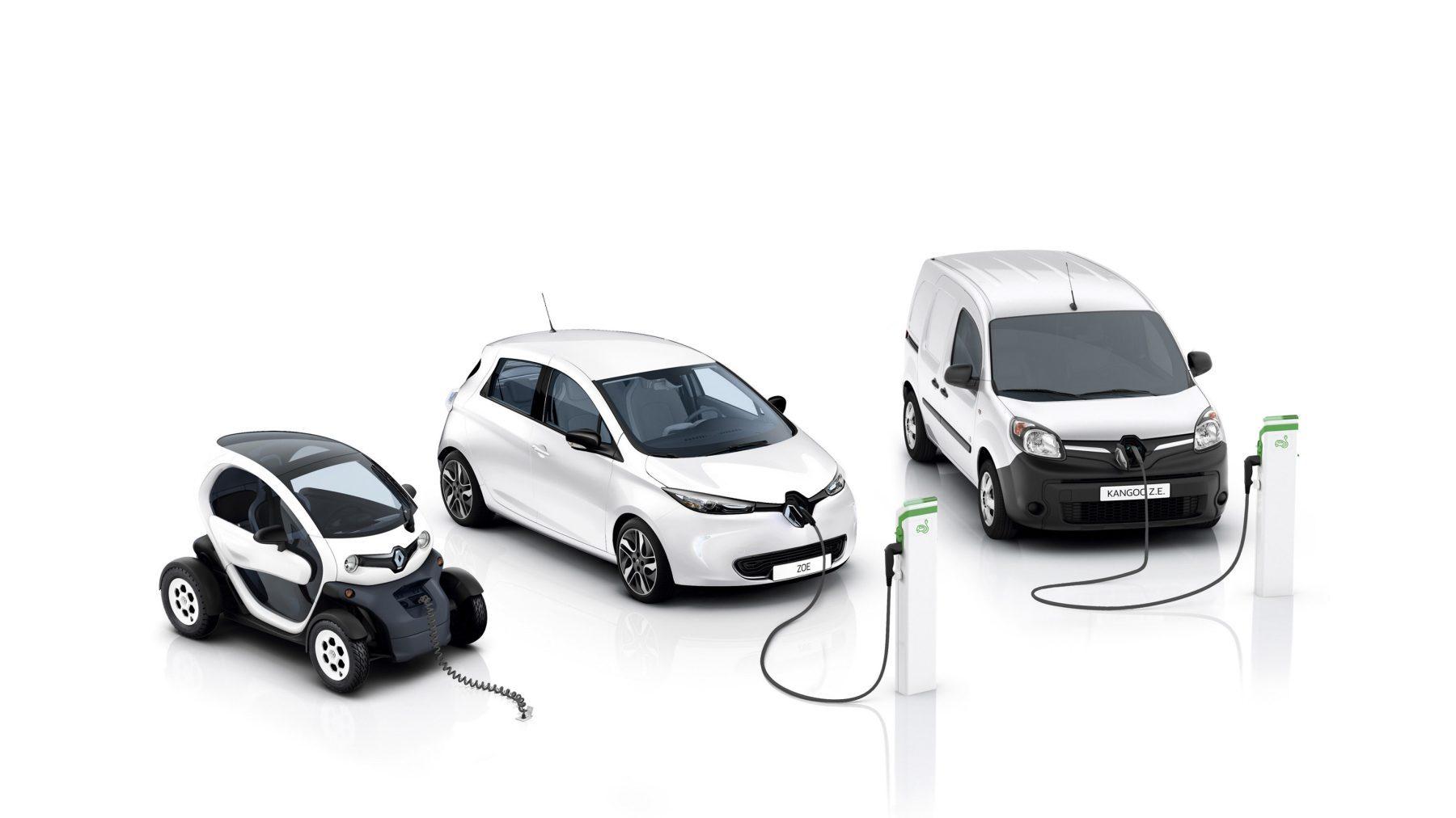 Voitures et véhicules utilitaires électriques Renault