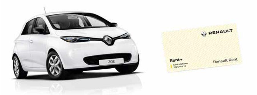 L'offre ZOE d'occasion + Carte Renault Rent+ Liberty