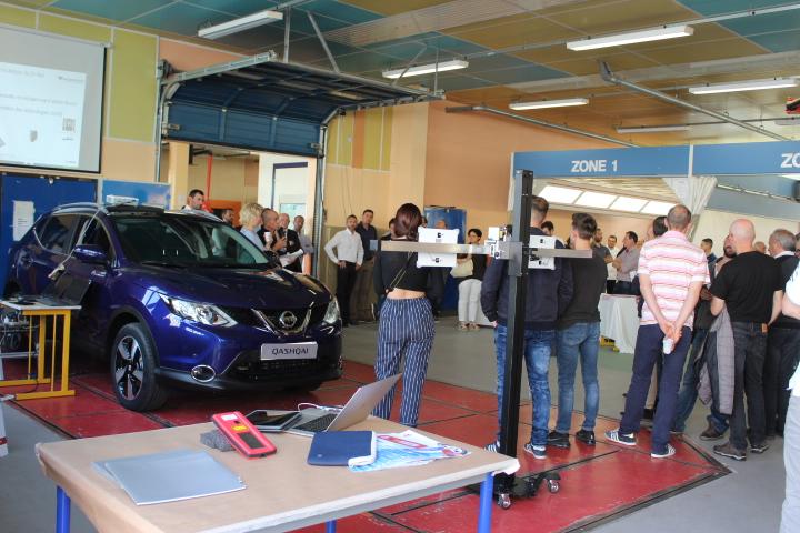 Le Nissan QASHQAI au lycée professionnel de Saint-Exupéry à Limoges
