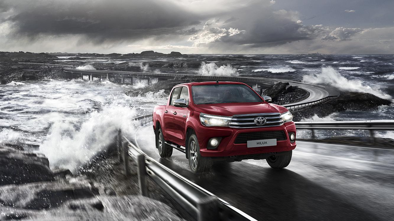 Découvrez le pick up Hilux de Toyota