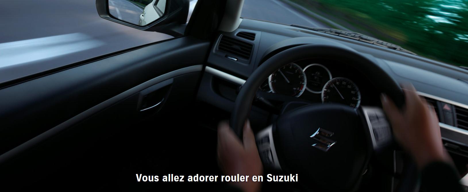 Adoptez un Suzuki