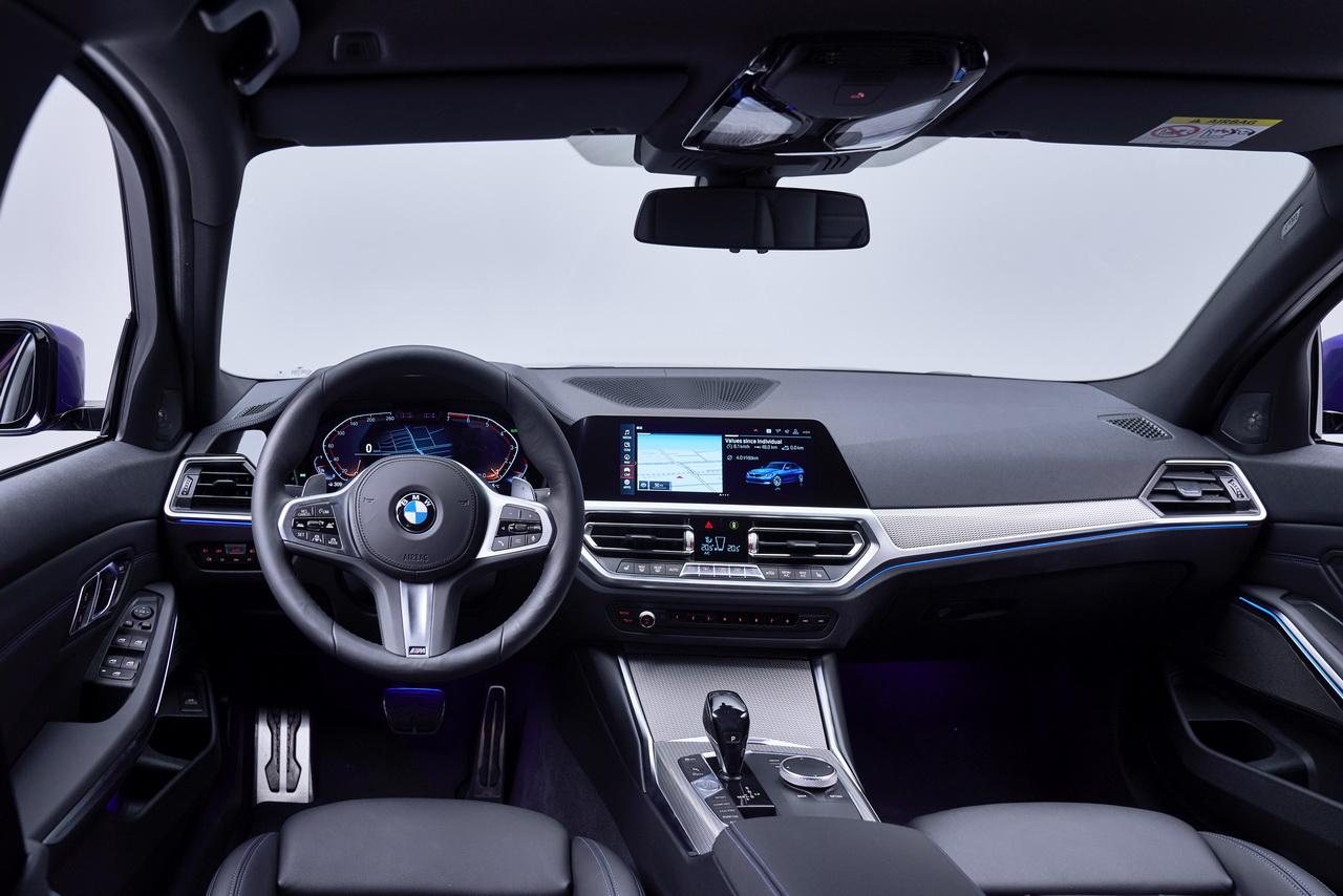 BMW Série 3 design intérieur du dernier modèle BMW