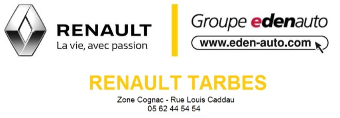 Concession Renault Tarbes - Edenauto
