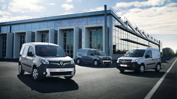 Véhicules utilitaires électriques Renault