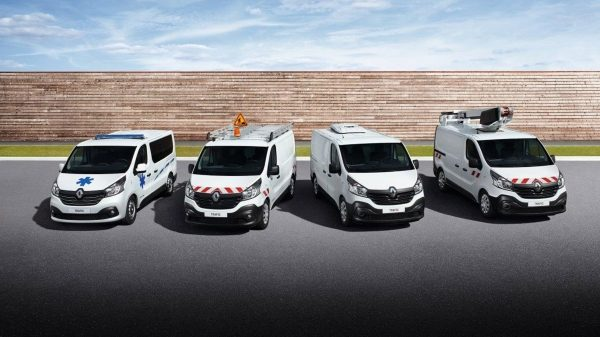 Véhicules utilitaires Renault transformés