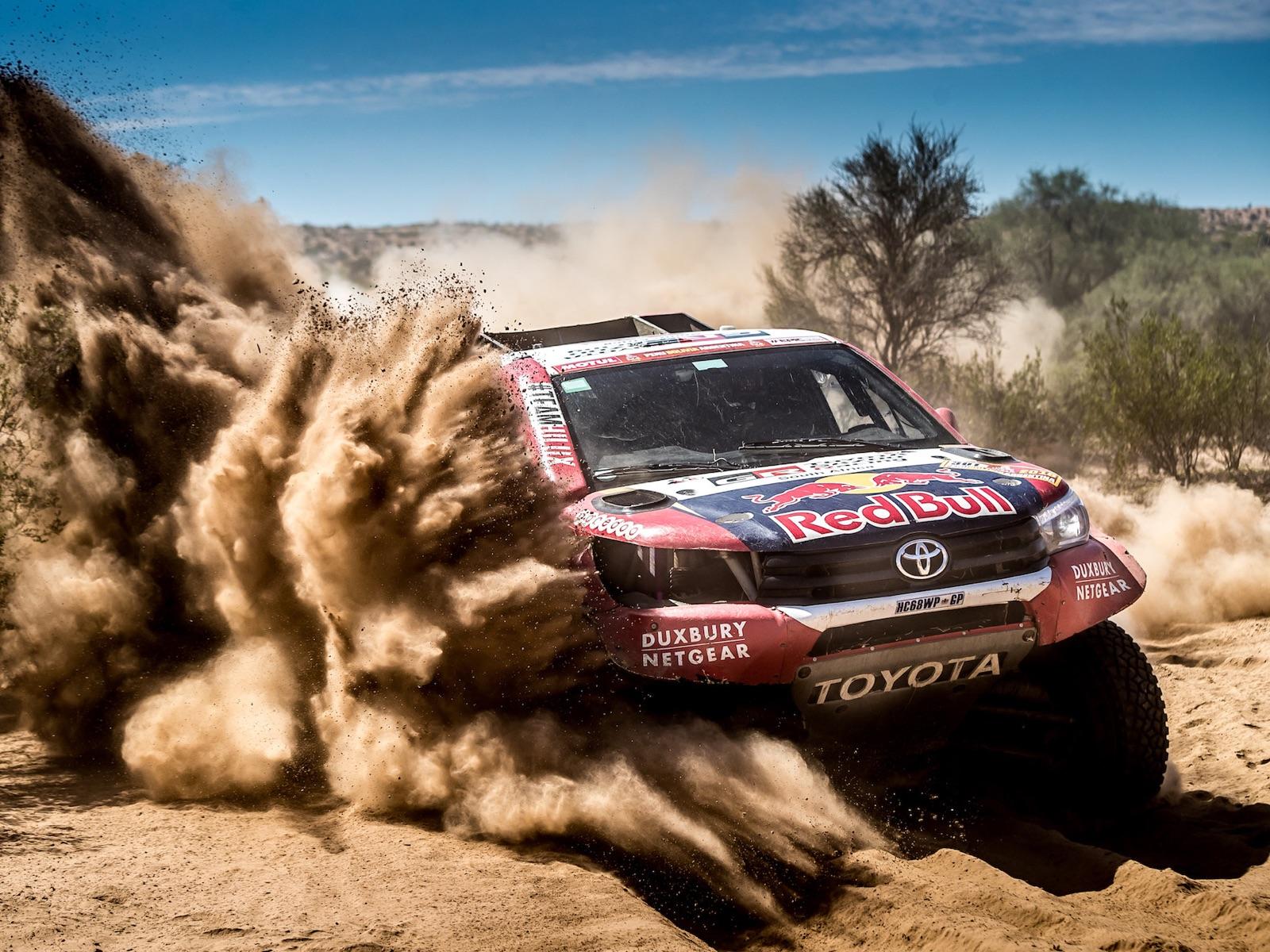 toyota hilux Dakar 2019