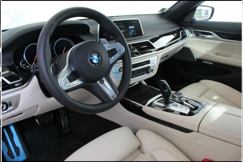 Habitacle BMW Serie 7