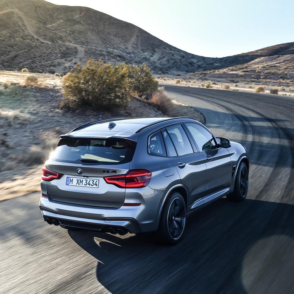 Nouvelle BMW X3 M Competition