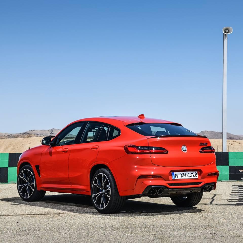 Nouvelle BMW X4 M Competition