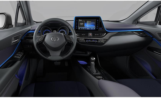 Planche de bord Toyota C-HR Hybride Design