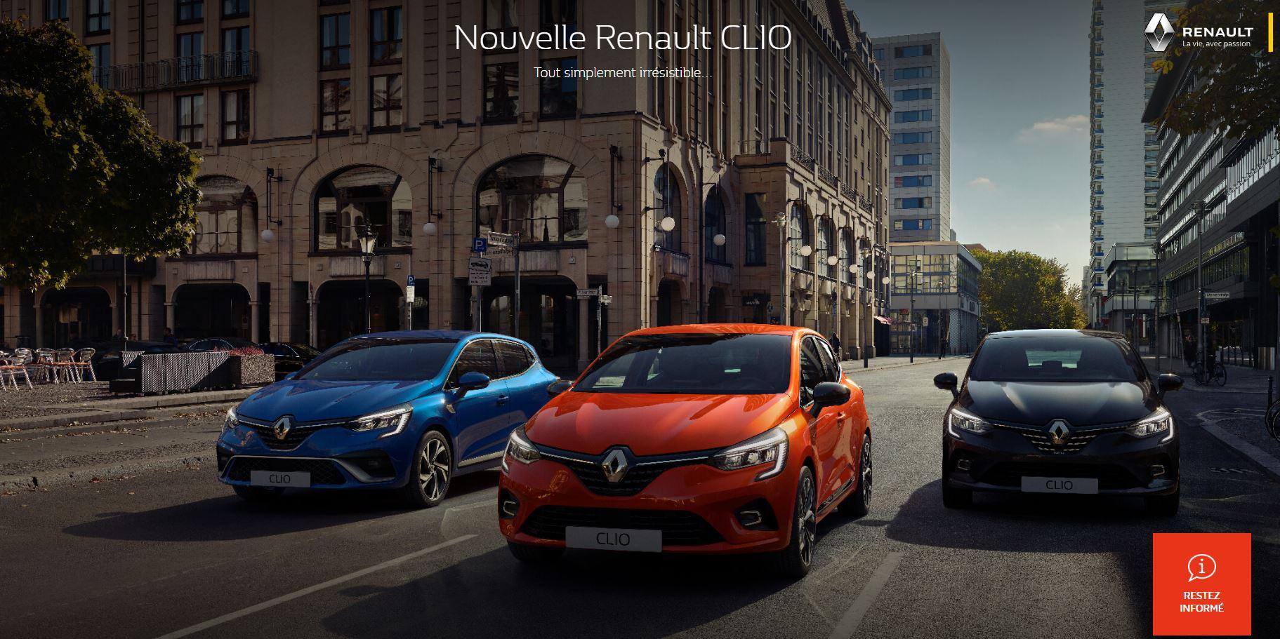 Découvrez la nouvelle Renault Clio dans votre concession Renault du Groupe Edenauto