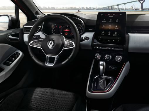 Planche de bord nouvelle Renault Clio