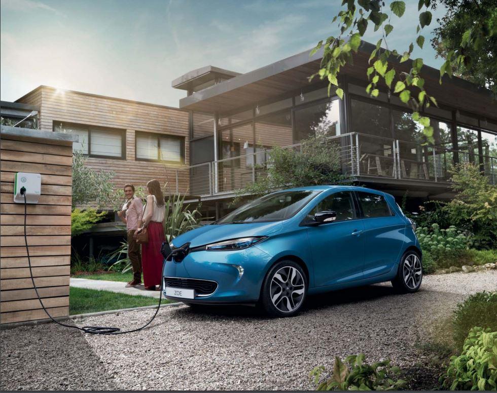 Conduite 100% électrique en Renault Zoé