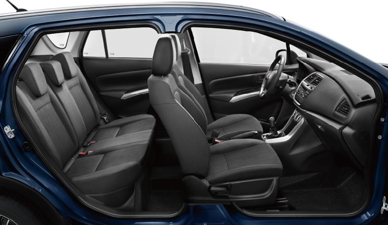 Habitabilité du SUV Suzuki S-Cross