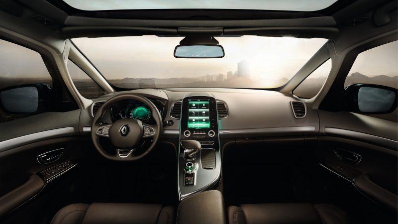 Découvrez le vaste habitacle du Renault Espace en concession Renault Edenauto