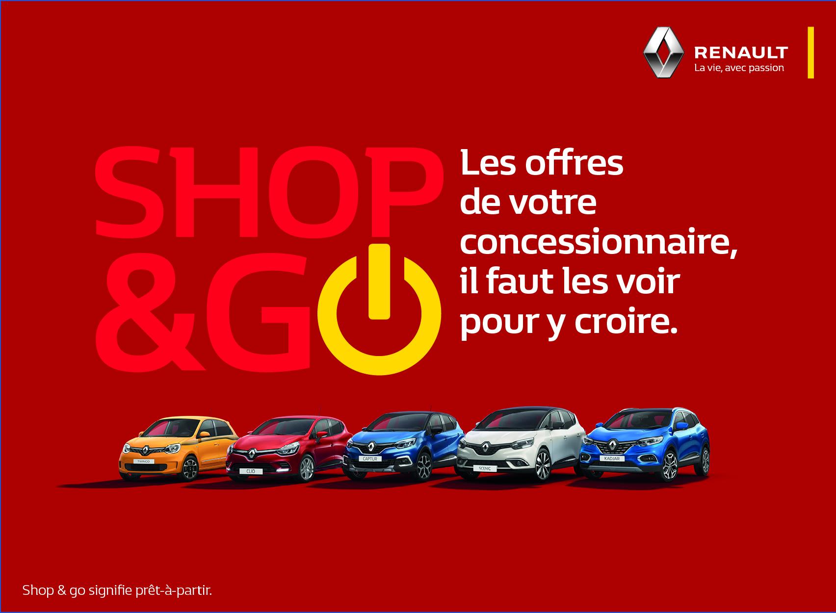 Offres Renault : Offres Shop & Go