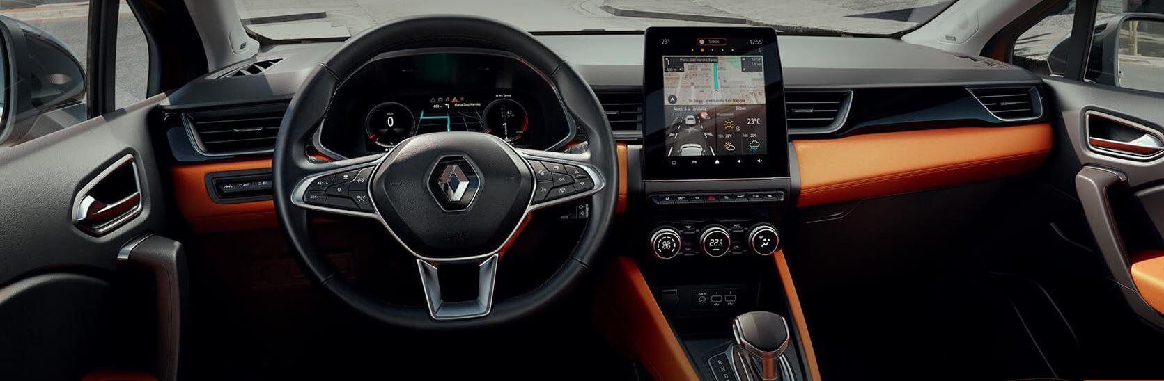 Découvrez l'habitacle du nouveau SUV Renault