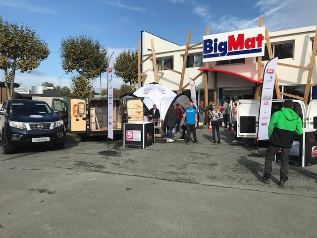 BigMat x Nissan à Saujon