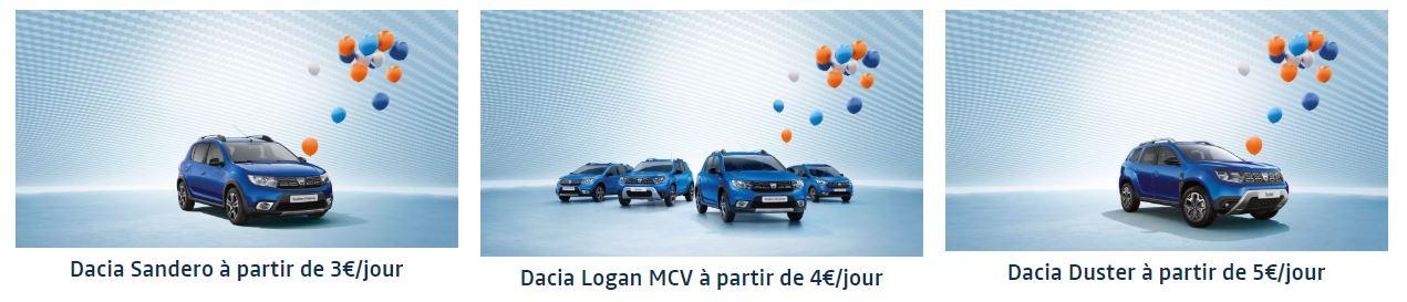 Découvrez la nouvelle gamme Dacia série limitée 15 ans