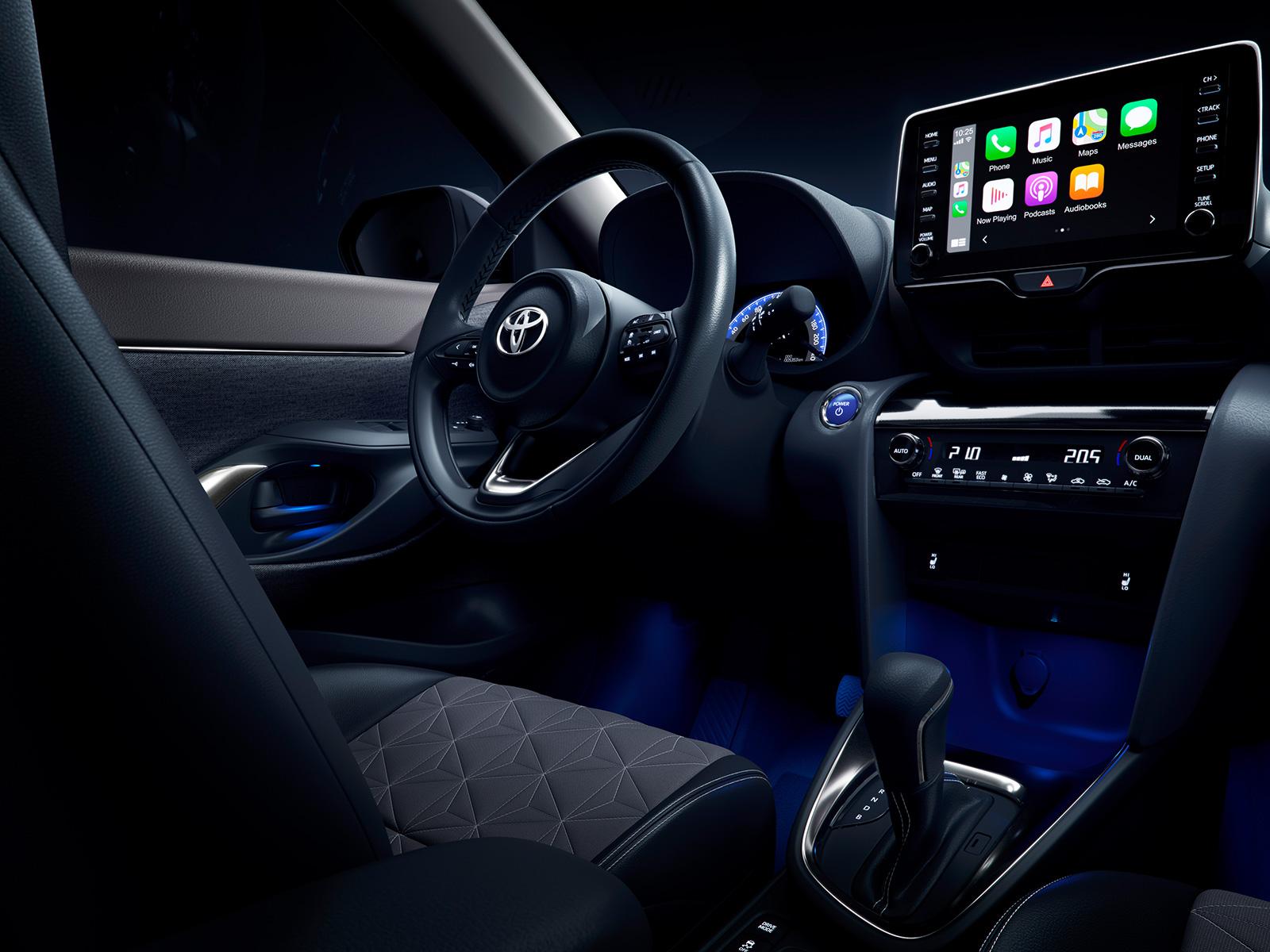 Technologie embarquée dans la nouvelle Toyota Yaris Cross Hybride à essayer dans vos concessions Toyota