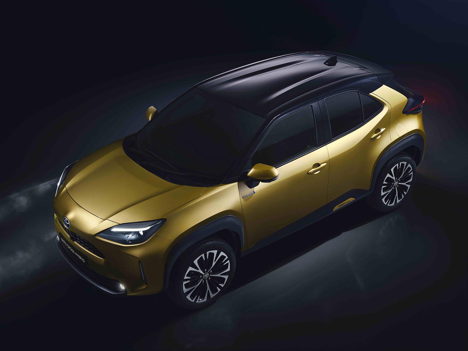 SUV hybride Toyota Yaris Cross adapté à la ville et à la conduite urbaine
