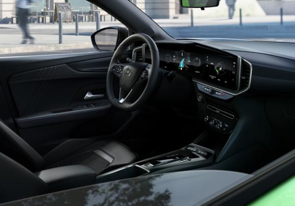 Planche de bord nouvel Opel Mokka électrique