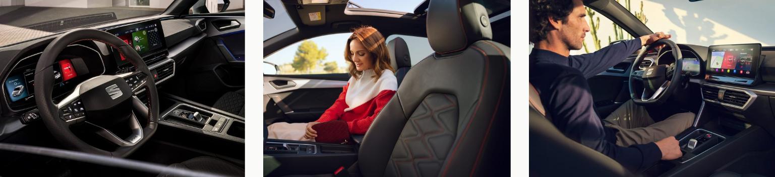 Volant, sellerie, finition du nouvel SEAT Leon à découvrir en concession edenauto