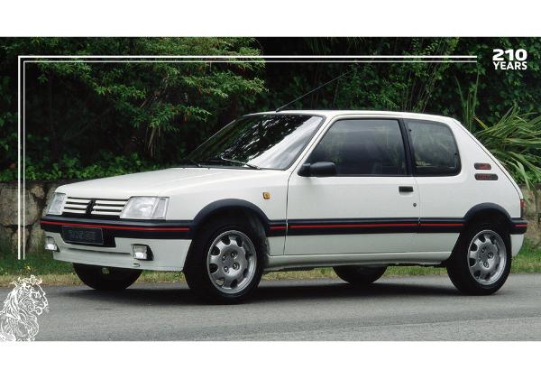 Peugeot 205 l'un des fleurons des 210 ans Peugeot