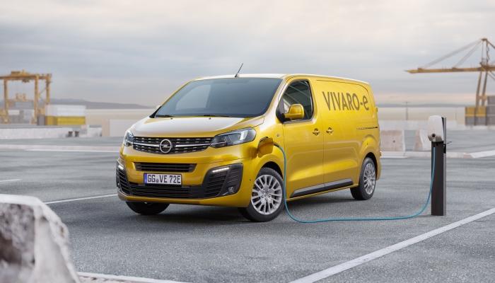 Opel Vivaro-e, véhicule utilitaire électrique