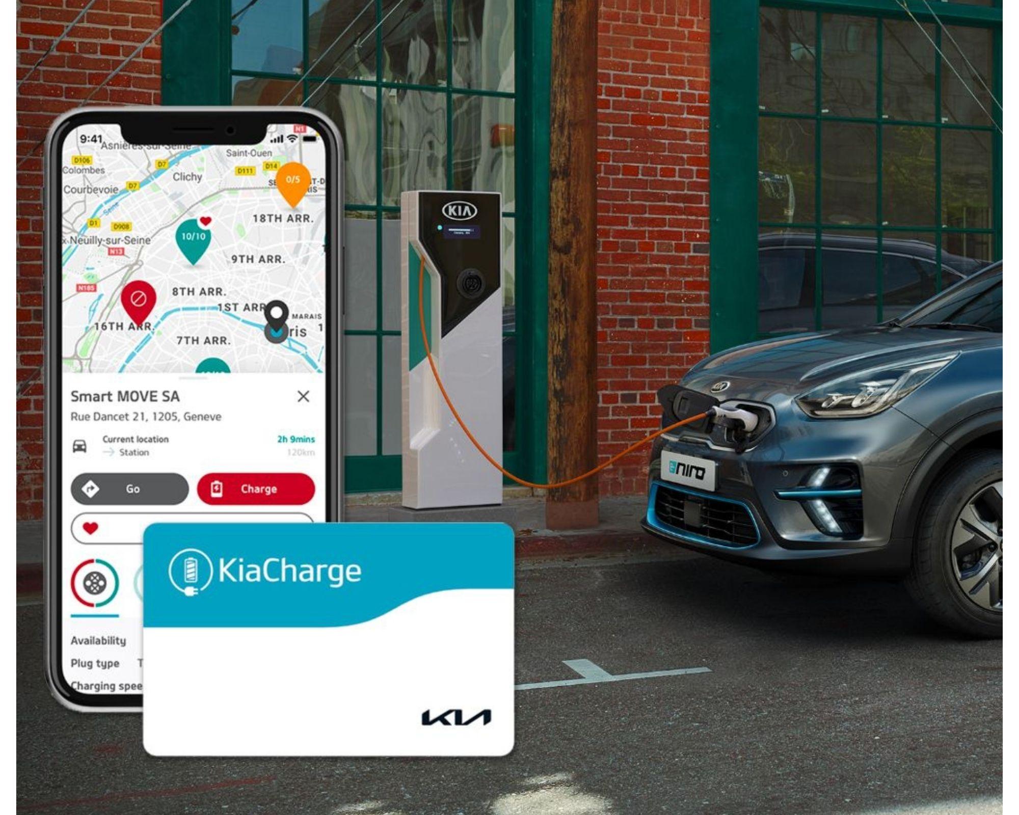 KiaCharge le réseau européens  de 205 000 points de charge pour véhicules électriques