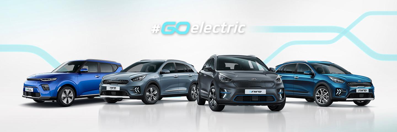 Toute la gamme électrique Kia : E-Soul Electrique, Niro Hybride Rechargeable, E-Niro Electrique, Niro Hybride