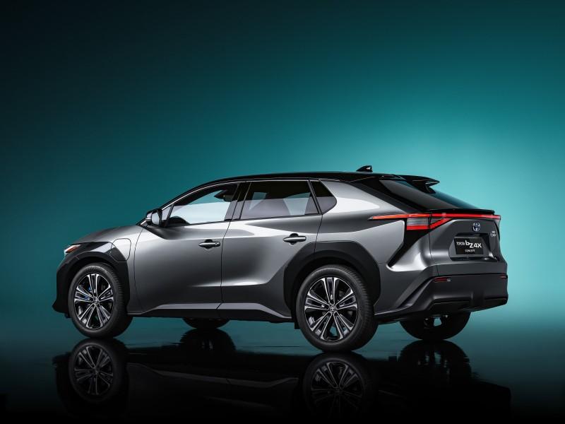 Découvrez le concept Toyota bZ4X un SUV électrique