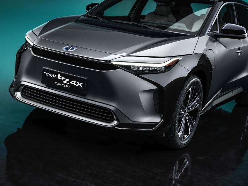 Design extérieur du Toyota bZ4X Concept
