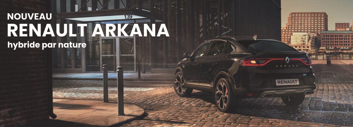 Découvrez le tout nouveau Renault Arkana chez vos concessionnaires Edenauto
