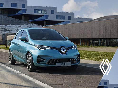 Renault Zoé E-tech 100% électrique
