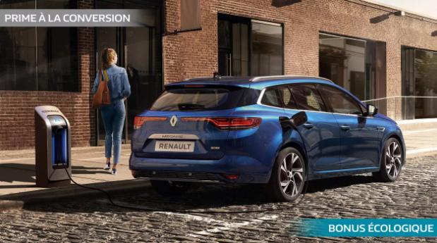 Renault MEGANE ESTATE E-TECH Hybride Rechargeable