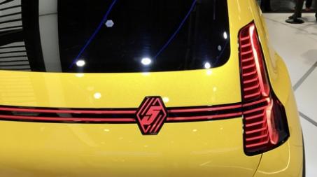 Nouvelle R5 électrique