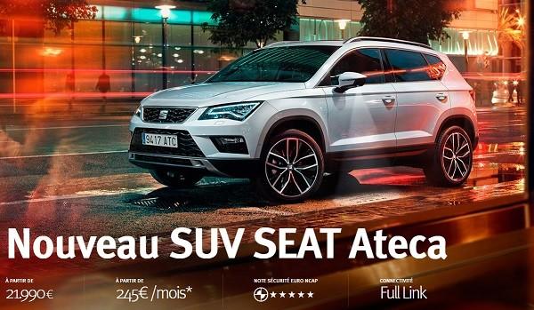 Essai Vidéo de Seat ATECA Par Auto Moto Magazine
