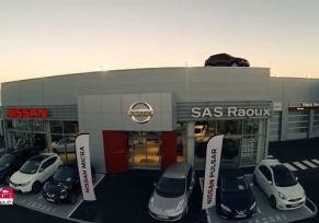 """Retour sur les """"Grands Evénements du Groupe edenauto"""" Vidéo de présentation de la nouvelle concession Nissan de Tarbes"""