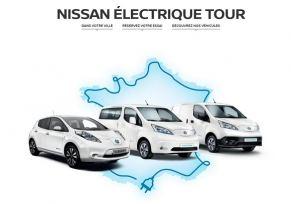 Le NISSAN ÉLECTRIQUE TOUR 2016: Découvrez la gamme Nissan 100% électrique à Limoges!