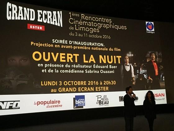 Nissan partenaire des 1ères Rencontres Cinématographiques de Limoges du 03 au 11 octobre 2016
